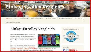 Startseite von www.einkaufstrolley-vergleich.de