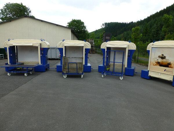 Rollcart Routenzugang Ladungsträger