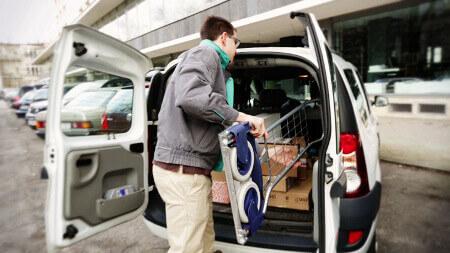 paketroller ruxxac cart 125 kg tragkraft. Black Bedroom Furniture Sets. Home Design Ideas